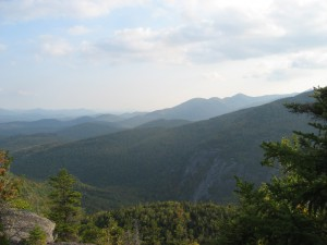 Looking South at the high peaks region