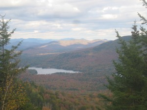 Northern Adirondack foliage in autumn