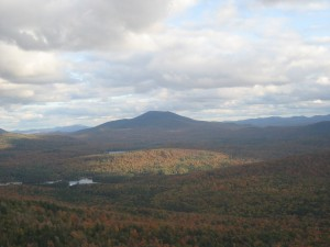 Northern Adirondacks foliage
