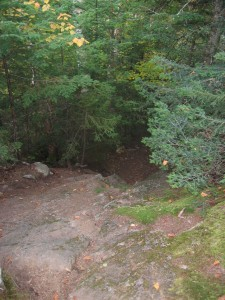 Trail down from Giant's Nubble