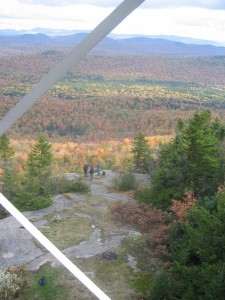 View while climbing the Fire Tower