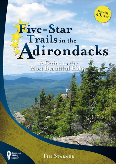 Book Cover for Five Star Trails in the Aidrondacks