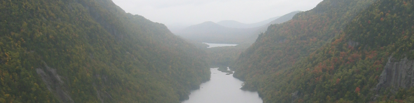 Lower Ausable Lake as seen from Indian Head
