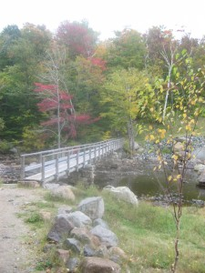 Bridge below Ausable Lake Dam