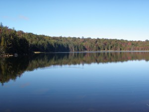 Bubb Lake in the West Central Region of the Adirondacks