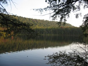 Cascade Lake in West Central region of the Adirondacks