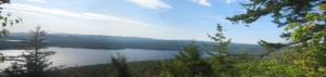 Small version of the panoramic view atop Echo Cliffs