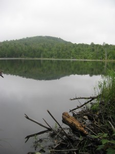 Glasby Pond in the Northern Adirondacks