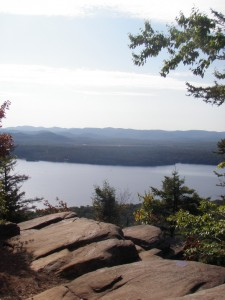 Panther Mountain in the West Central Region of the Adirondacks