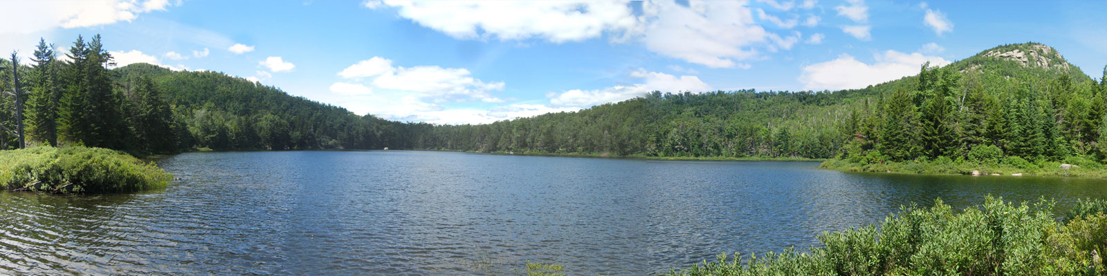 Peaked Mountain Pond in the Central Adirondack Region