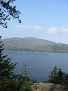 Pharaoh Lake and Pharaoh Mountain in the Eastern Adirondacks