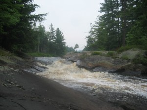 Rapids along the Grass River in the Northern Adiorndacks