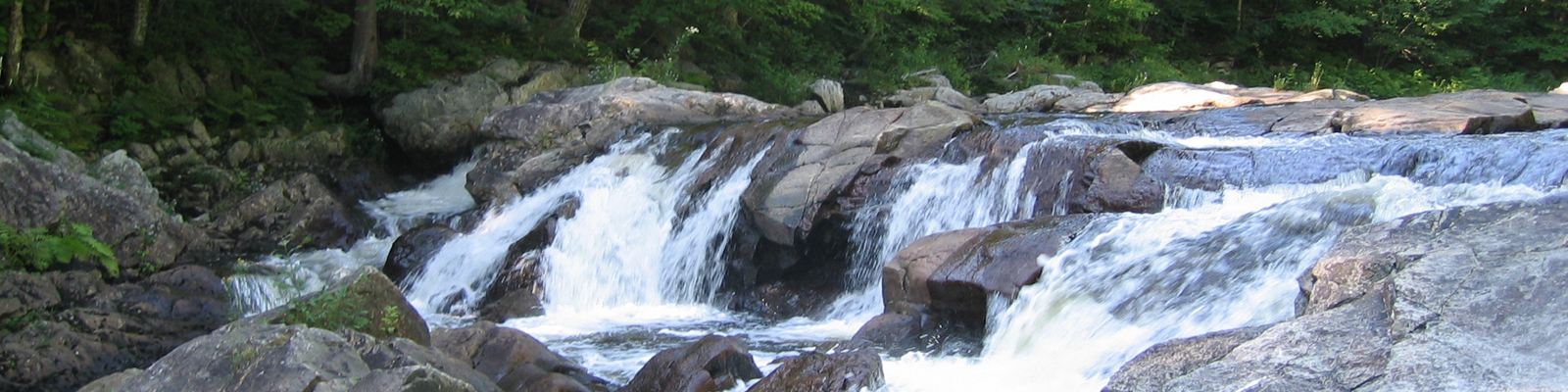 Waterfall along West bracnh of the Sacandaga River