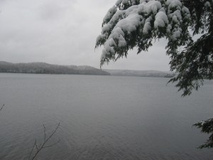 Woodhull Lake in West-Central Adirondack Region