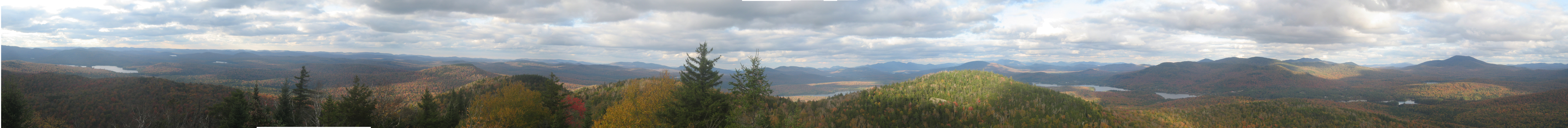 Owls Head Mountain Panoramic View