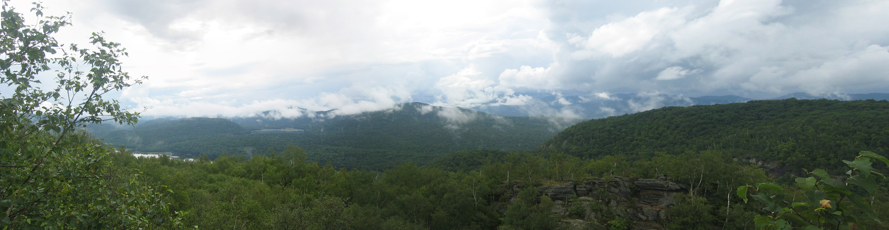 Chimney Mountain Panoramic View